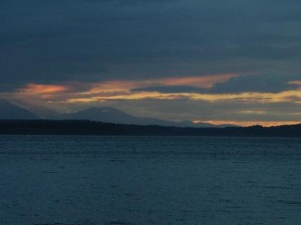 Puget Sound, Sunset