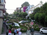 Lombard Street (the famous block)