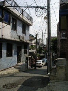 Random Unnamed Street in Seoul