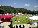 View of the AMCHAM picnic