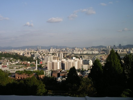 South view from Hyatt