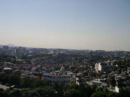 North-west view from Hyatt
