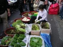 Vegetable Seller at Namdaemun