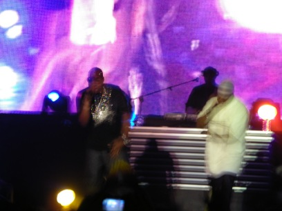 Jay-Z & Memphis Bleek On Stage