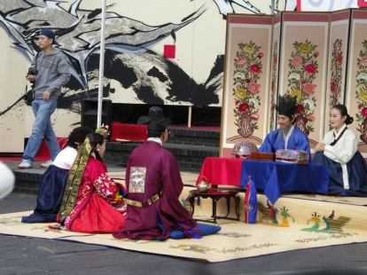 Traditional Korean Wedding Reenactment