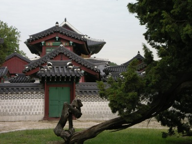 Changdeokgung roofs