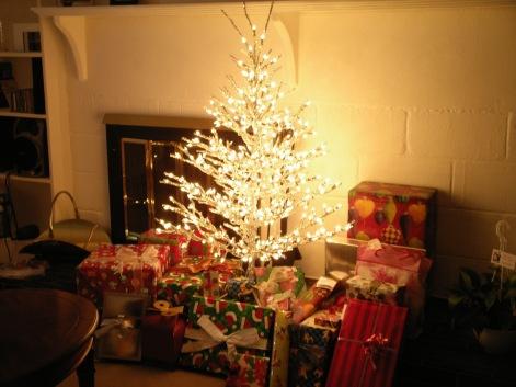 Christmas tree Dec 24th 2006