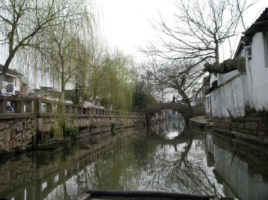along the old canals that Marco Polo is said to have loved so much